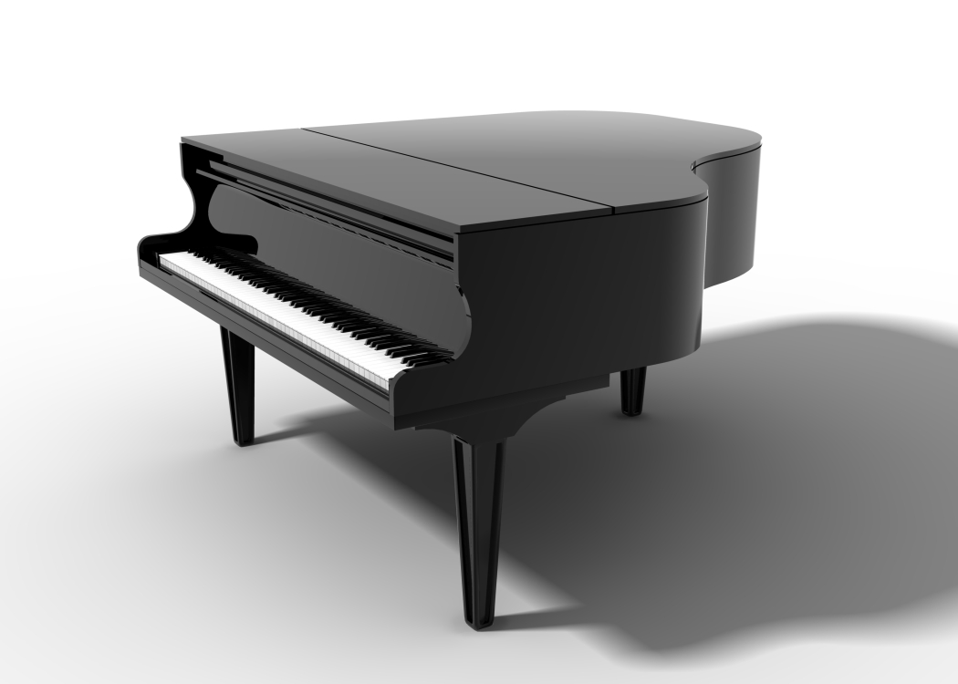 Cns lupus butterflies and a minor milestone piano for Small grand piano