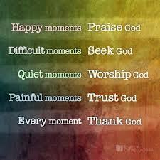 thankful moments