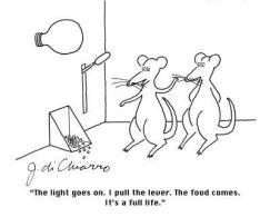 conditioned response cartoon
