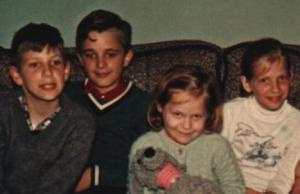Me with siblings @ 1963