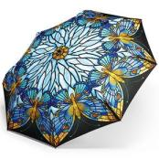 Smithsonian Museum Stained Glass Butterfly Umbrella