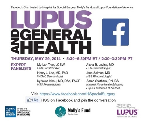 HSS Lupus and General Health Updated Annoucement