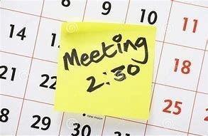 Calendar a meeting
